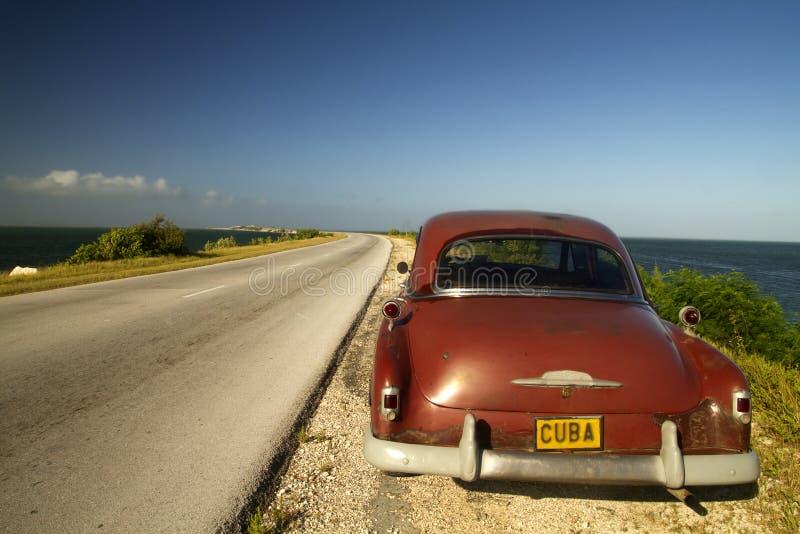 Cayo Santa Maria Causeway, Cuba fotografia stock libera da diritti