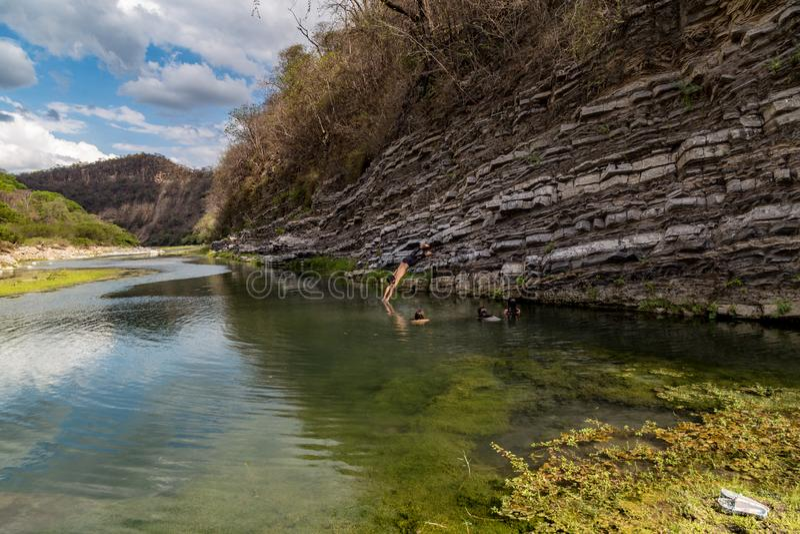 Cazaderos, Loja, Ecuador fotografia stock libera da diritti