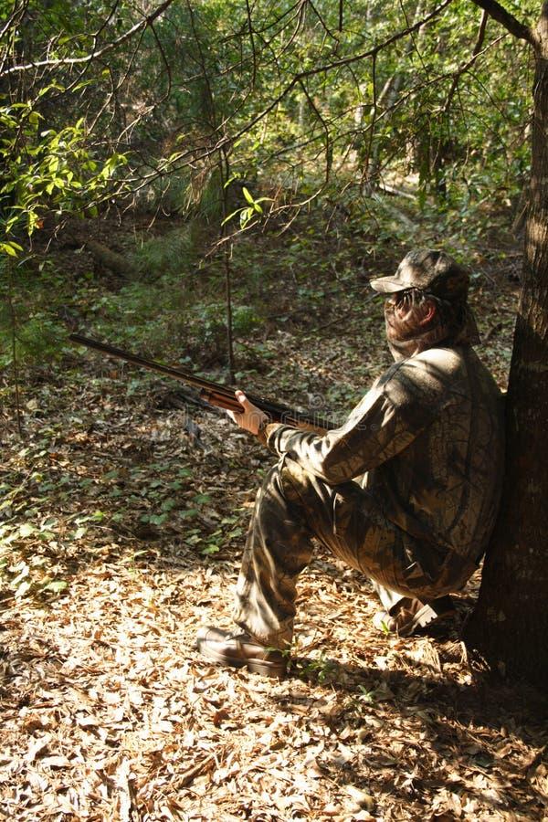 Cazador - caza - deportista fotografía de archivo libre de regalías