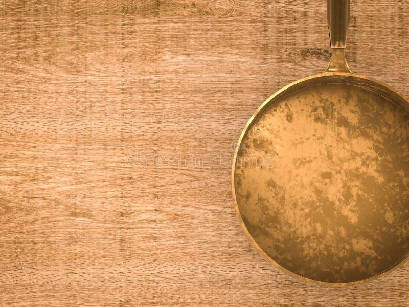 Cazo vacío imagen de archivo libre de regalías