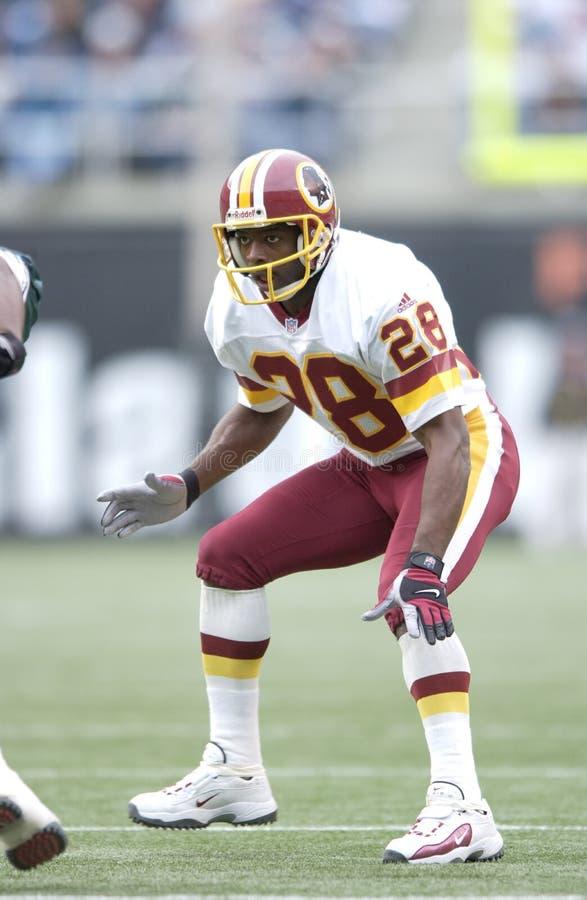 CB Darrell Green de Washington Redskins fotografia de stock royalty free