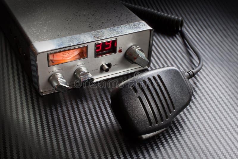 CB radio fotografia stock