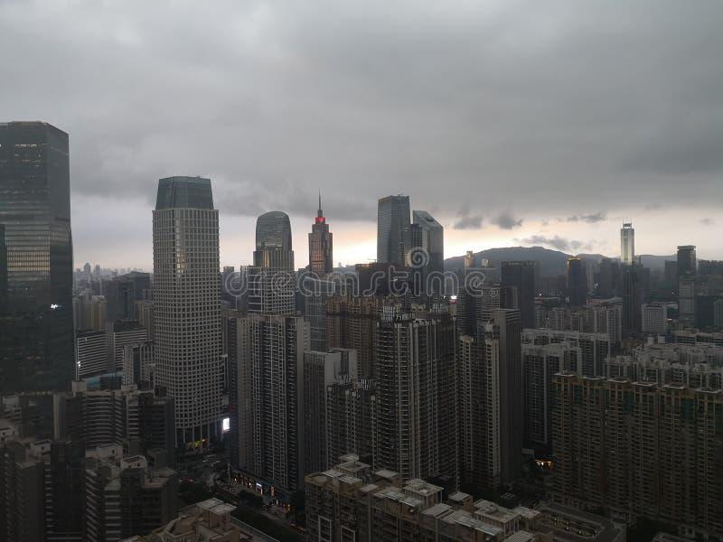 CBD广州 库存图片