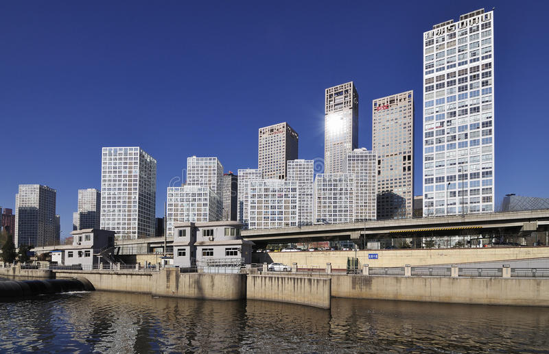 Download CBD-Beijing City Economic Centers,china Editorial Stock Image - Image: 17462429