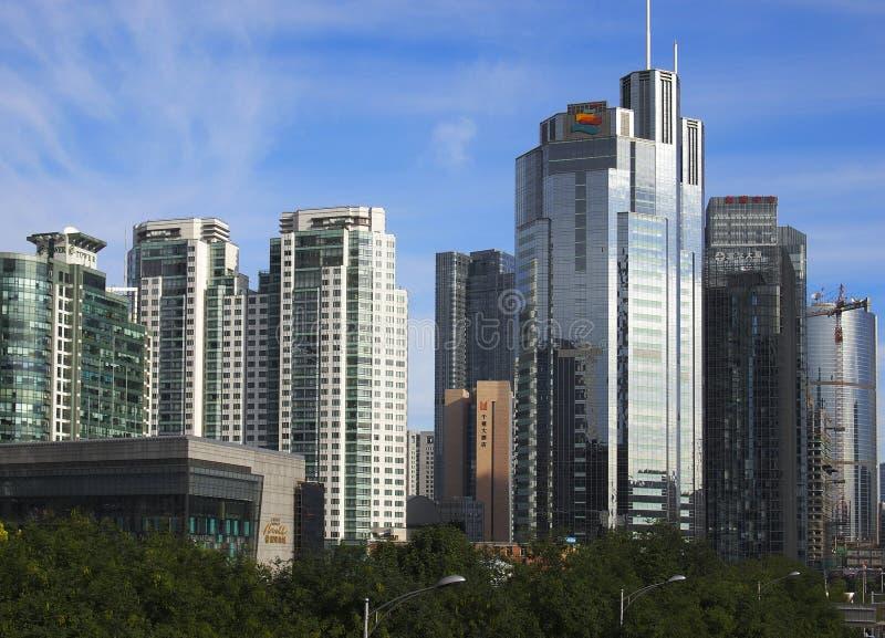 Download The CBD Building , Beijing Skyline Editorial Stock Image - Image: 21257684