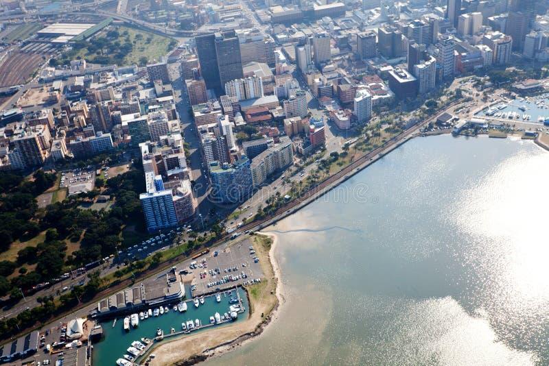 Cbd de la ciudad de Durban foto de archivo libre de regalías