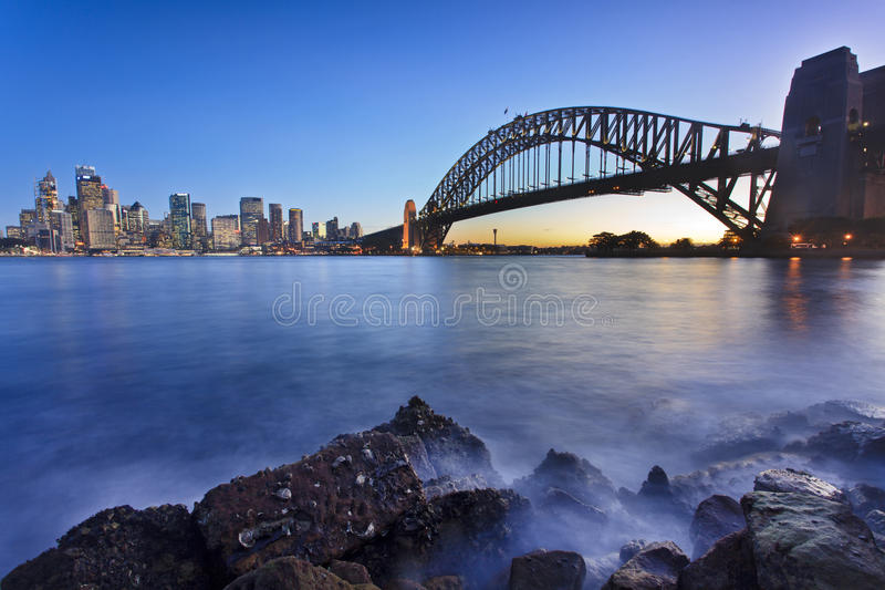 CBD Harb Low Tide Light Royalty Free Stock Images
