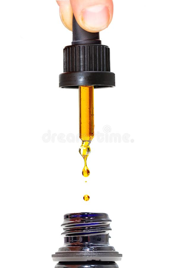 Free CBD Oil Dropper Stock Images - 134806634