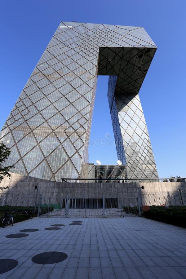CBD-Peking CCTV-Turm lizenzfreie stockbilder