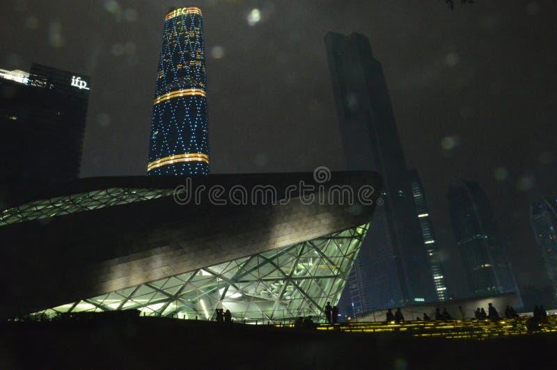 CBD w Guangzhou zdjęcia royalty free