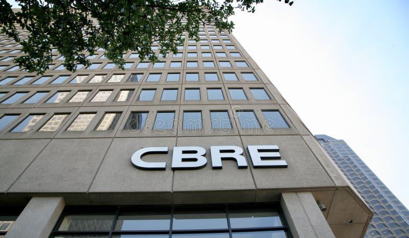 CBRE房地产开发者 库存照片