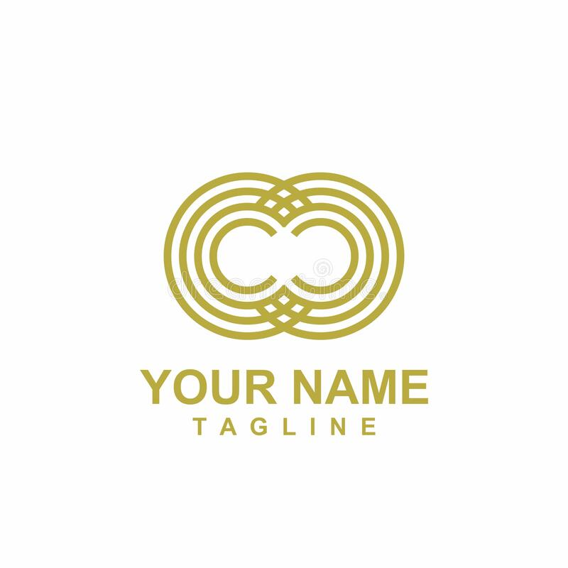 Free CC, CO, OC, OO Initials Geometric Logo And Icon Royalty Free Stock Photo - 187816635