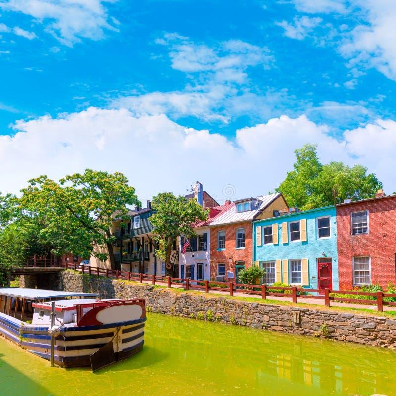 CC del parco nazionale del canale dell'Ohio e del Chesapeake immagini stock libere da diritti