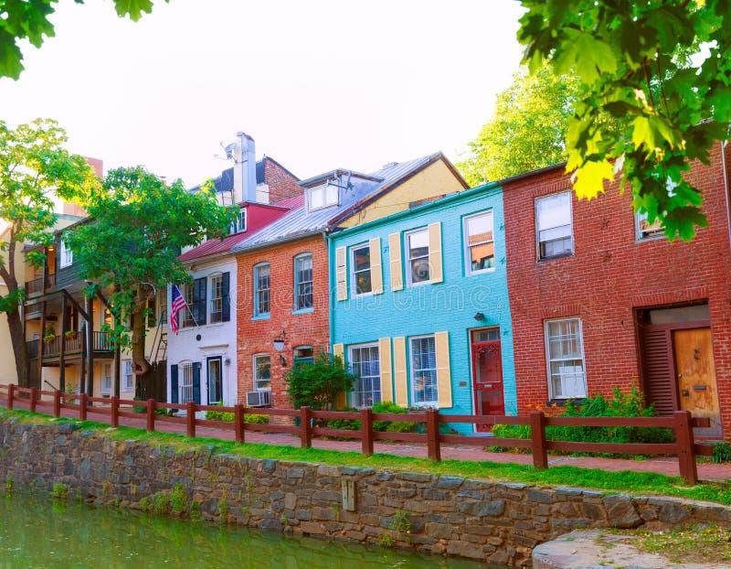 CC del parco nazionale del canale dell'Ohio e del Chesapeake fotografie stock libere da diritti