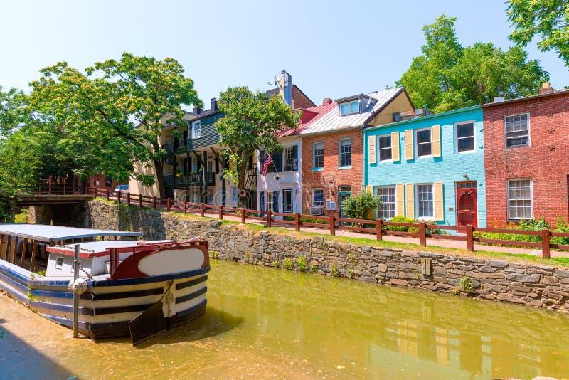 CC del parco nazionale del canale dell'Ohio e del Chesapeake fotografia stock