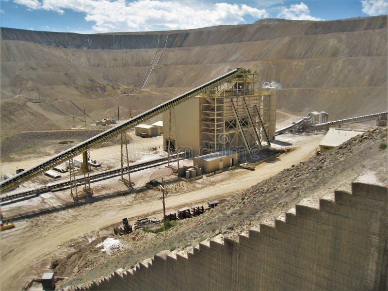 CC i V kopalnia złota obrazy stock