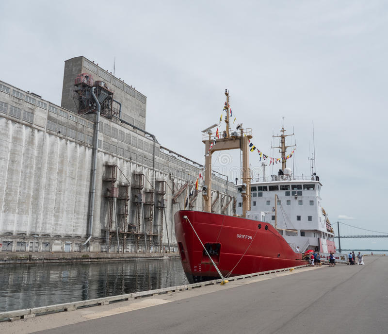 CCGS Griffon royalty free stock images