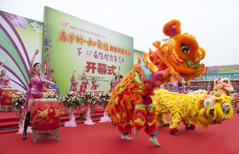 Download CChinese New Year Festivities Show Editorial Photo - Image: 18340026
