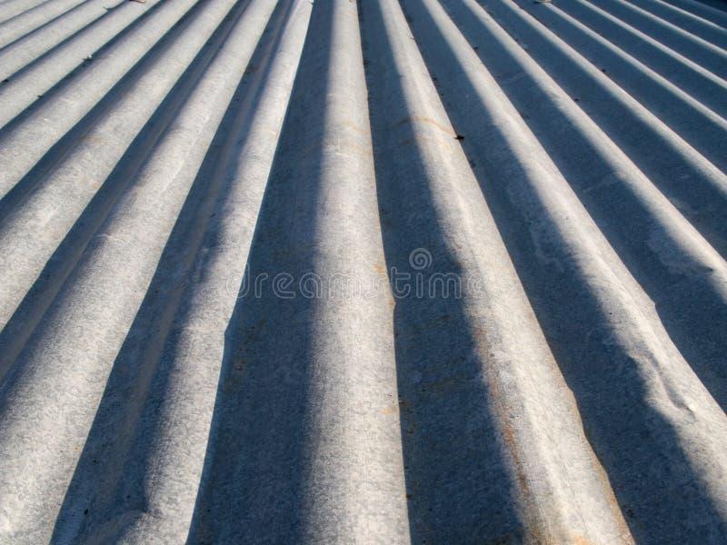 Ccorrugated Metall lizenzfreie stockbilder