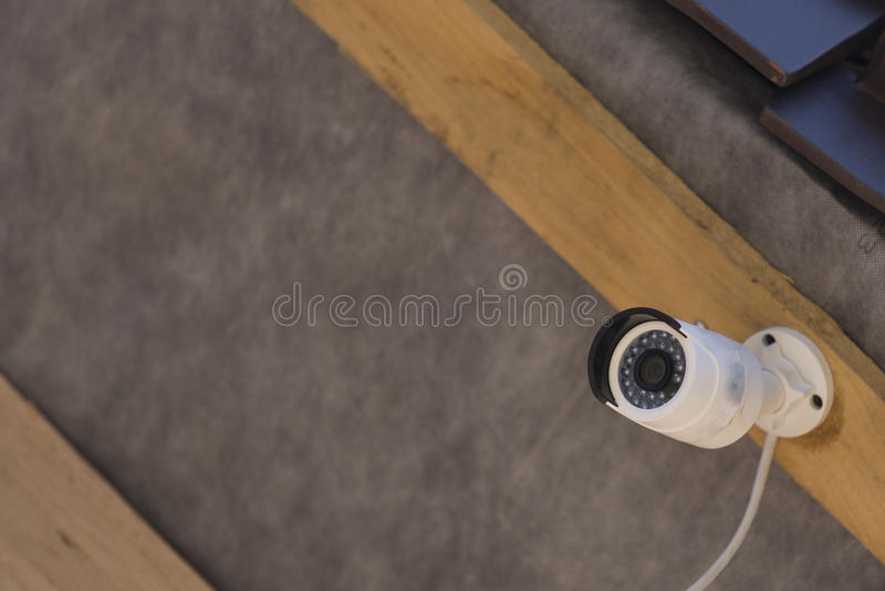 Cctv安全家照相机 免版税库存照片