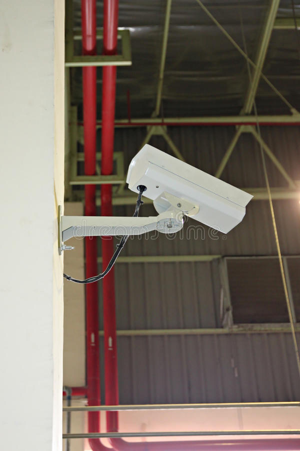 CCTV照相机。 免版税图库摄影