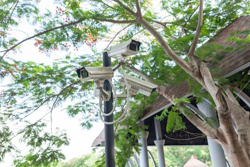 CCTV照相机或监视操作 CCTV,照相机, cctv 库存图片