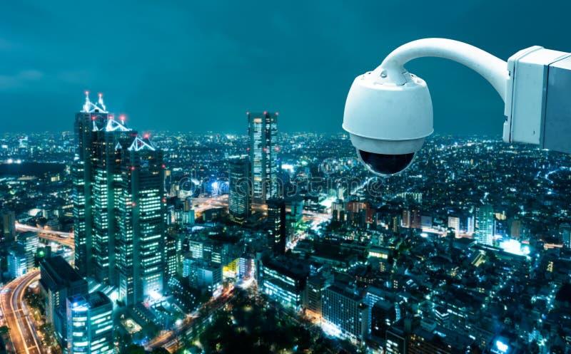 CCTV照相机操作 免版税库存照片