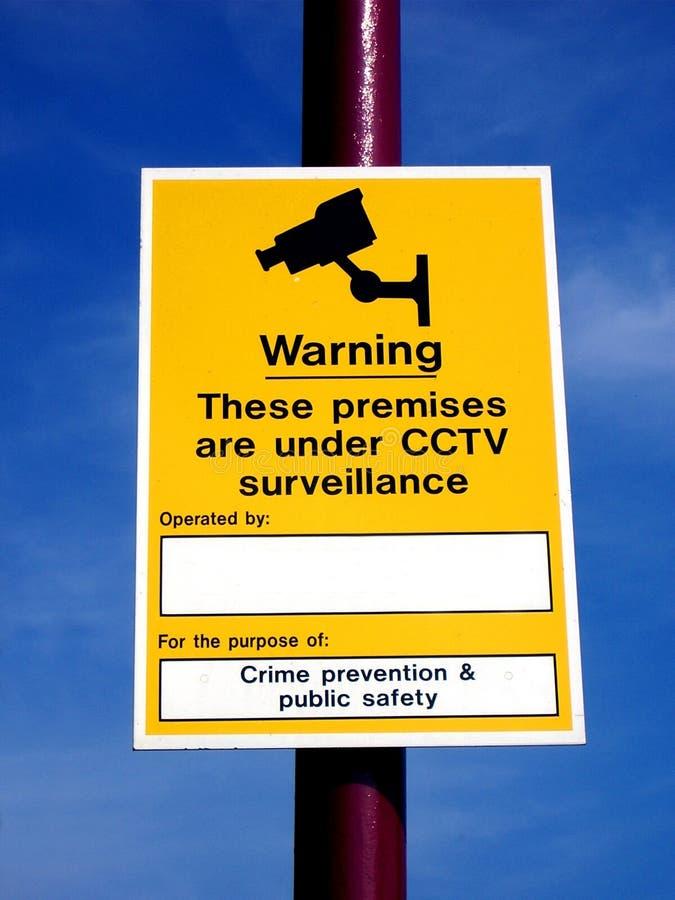 Cctv符号 免版税图库摄影