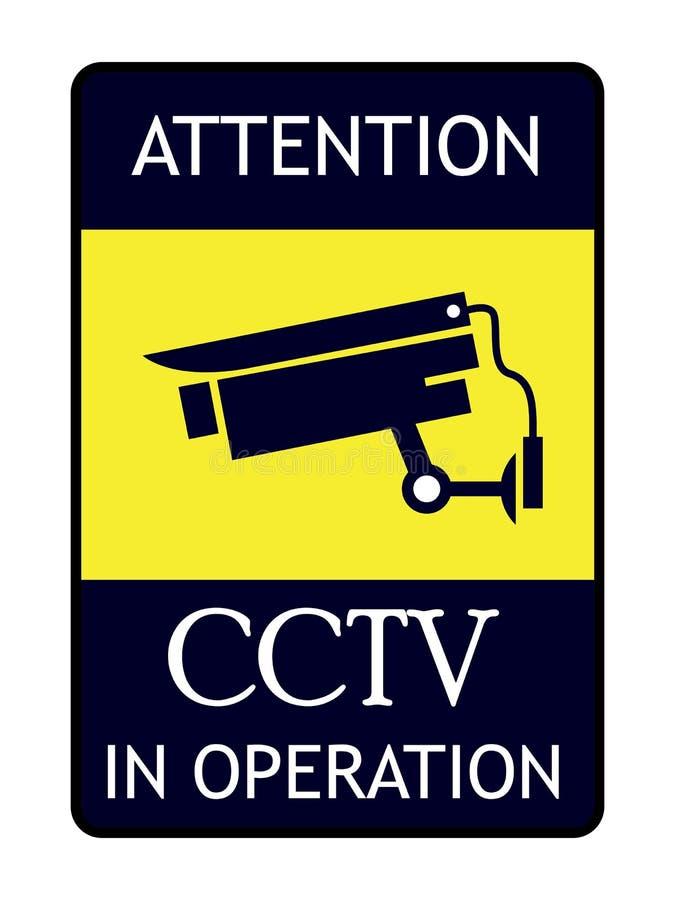 CCTV στον πίνακα λειτουργίας ελεύθερη απεικόνιση δικαιώματος