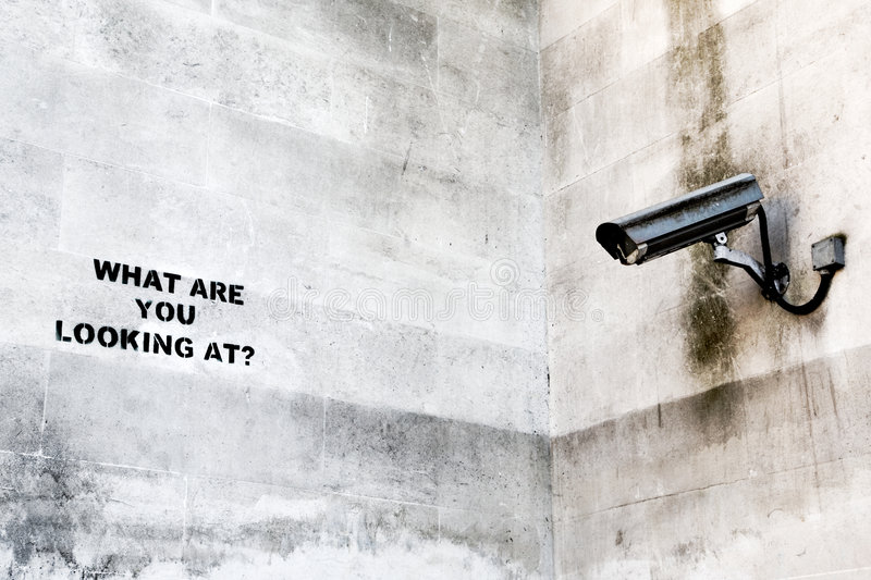 Download CCTV stock image. Image of graffiti, banksy, artist, police - 5652963