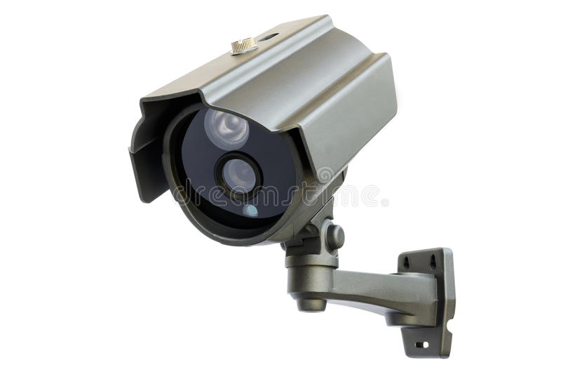 CCTV camera stock image