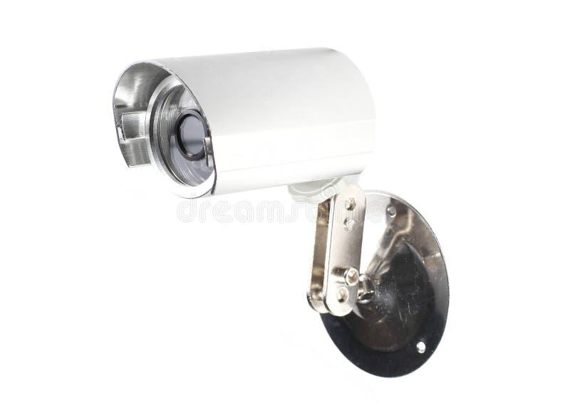 CCTV Camera Surveillance. On White background stock photos