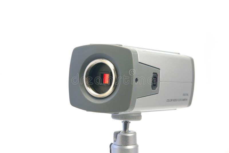 CCTV con il sensore fotografie stock