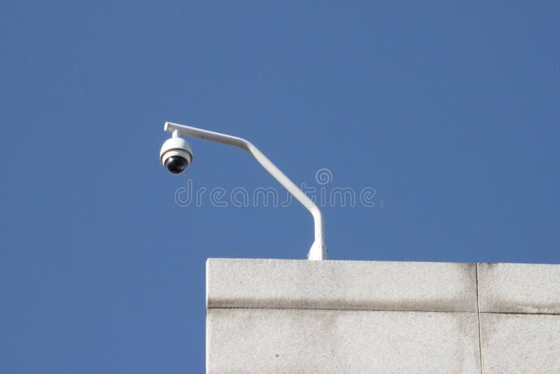 CCTV da câmara de segurança imagem de stock