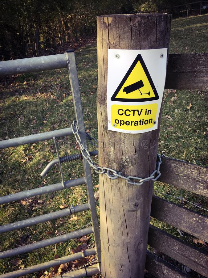 CCTV funkcjonuj?cy obrazy royalty free