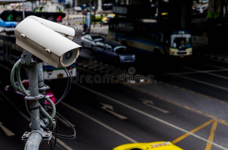 Download CCTV Inwigilaci Lub Kamery Działanie Na Ruchu Drogowym Zdjęcie Stock - Obraz złożonej z elektroniczny, życie: 57662370