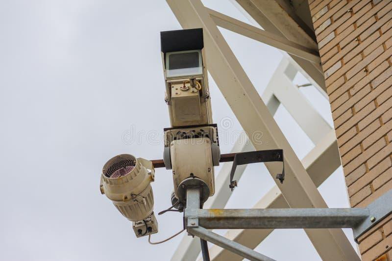 Cctv-kamera arkivbilder