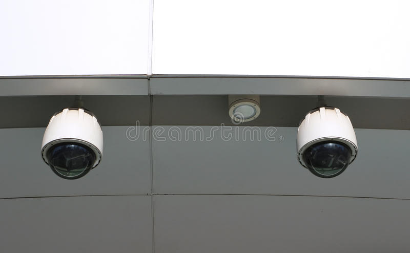 Cctv-Kamera lizenzfreies stockfoto