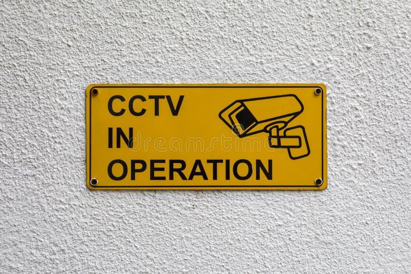 CCTV na operação fotos de stock
