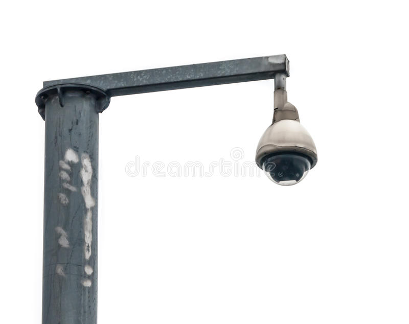 Download CCTV security camera stock photo. Image of security, white - 31365402