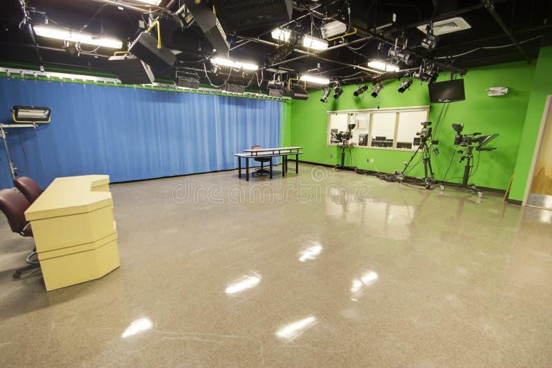 Download CCTV Studio stock image. Image of blue, broadcast, studio - 22871563
