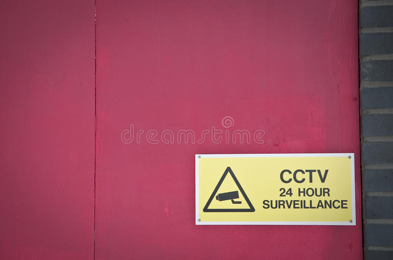 Download CCTV surveillance stock image. Image of cctv, sign, security - 24528847