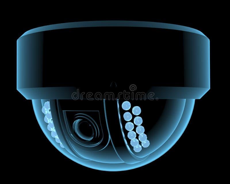 Cctv surveillance camera royalty free illustration