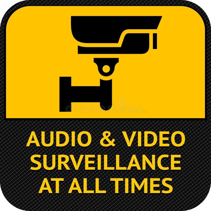 Cctv Symbol Pictogram Security Camera Stock Image Image Of Risk