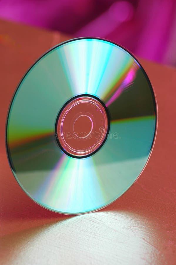 CD发光 库存照片