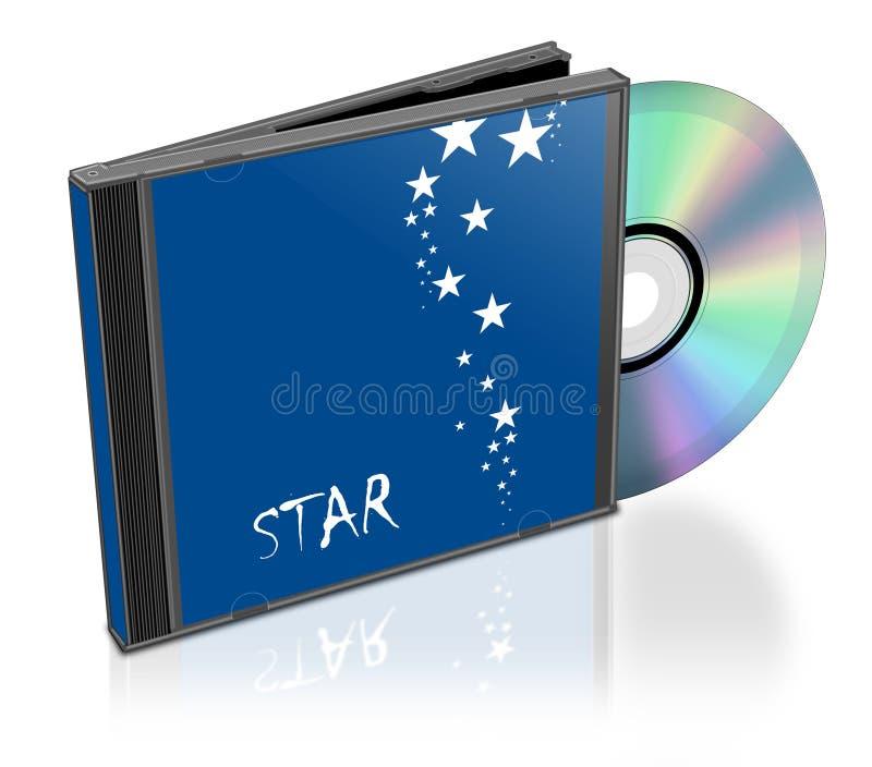 CD的堆 皇族释放例证