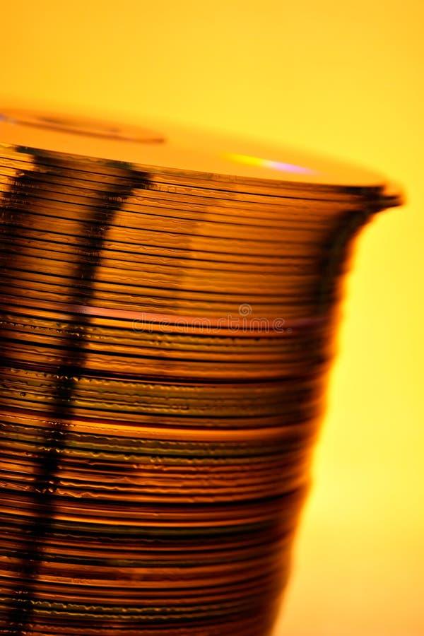CD的塔 库存图片