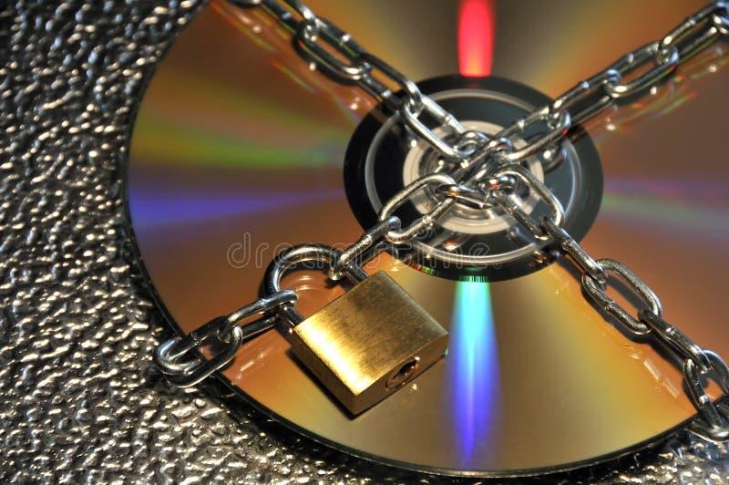 CD的数据安全性 库存照片
