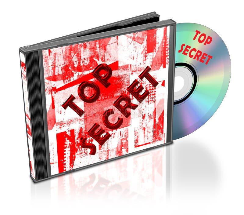 CD的装箱 皇族释放例证