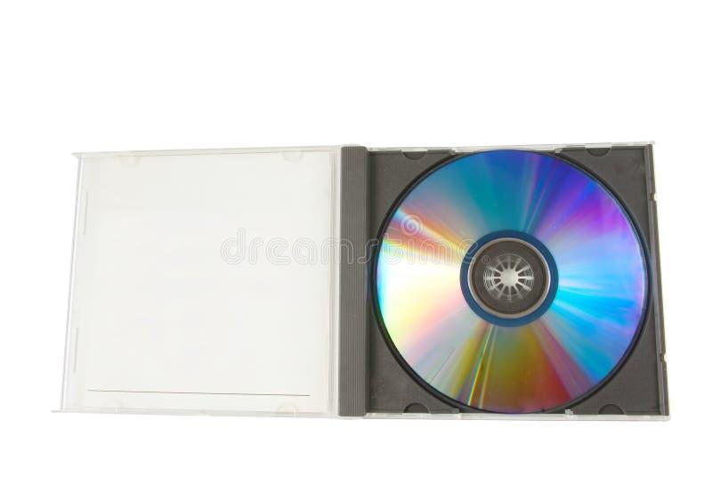 CD的配件箱倒空 库存图片